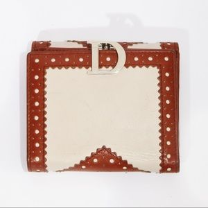 Christian Dior Leather Wallet By John Galliano